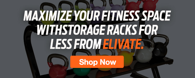 half Page Ad – Shop Storage Racks & Organization for Gyms – Click to View Page
