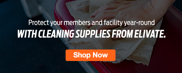 half Page Ad – Stock Up On Cleaning Supplies at ELIVATE – Click to View Page