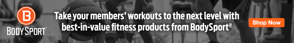 Full Page Ad – Shop Gym Essentials from BodySport at ELIVATE – Click to View Page