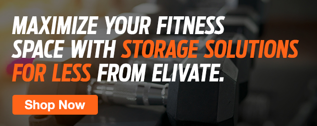 Half Page Ad – Shop Gym Storage Racks & Organization – Click to View Page