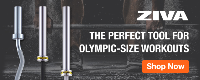 Half Page Ad – ZIVA Olympic Bars – Click to View Page