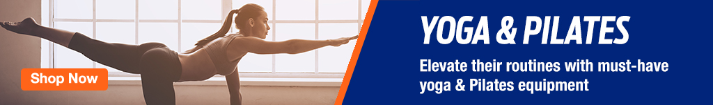 Homepage Banner Ad - Yoga & Pilates Equipment - Click to View Page