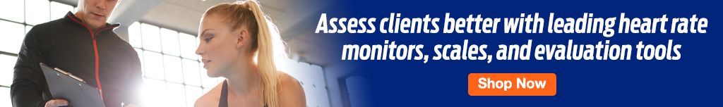 Full Page Ad – Leading Assessment Tools for Your Gym – Click to View Page