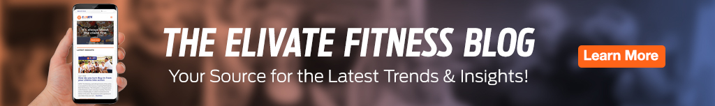 Homepage Banner Ad - ELIVATE Fitness Blog - Click to View Page
