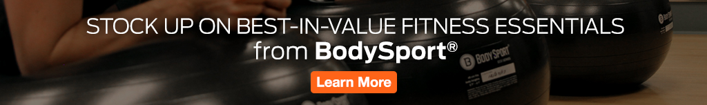 Full Page Ad – Stock Up On BodySport Fitness Essentials  – Click to View Page