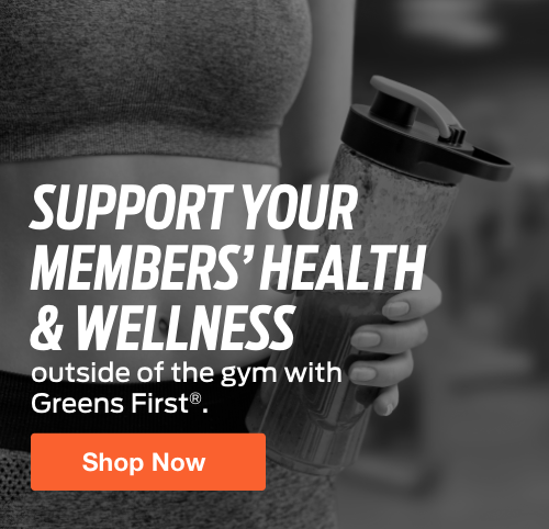 Half Page Ad – Shop Greens First Nutritional Supplements at ELIVATE – Click to View Page