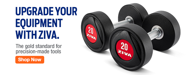 Half Page Ad – Upgrade Your Equipment with ZIVA – Click to Shop