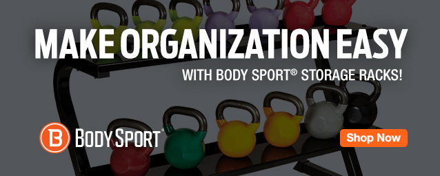 Half Page Ad – Body Sport Storage Racks – Click to View Page