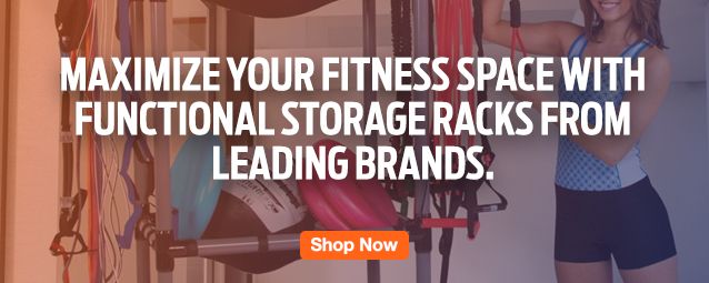 Half Page Ad – Maximize Your Fitness Space with Storage – Click to View Page