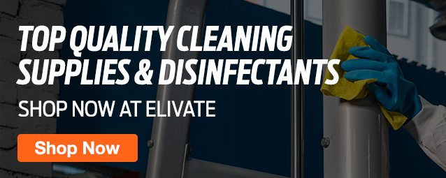 Half Page Ad – Place an Order for Cleaning Supplies at ELIVATE – Click to View Page