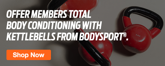 Half Page Ad – Kettlebells from Leading Brands at ELIVATE – Click to View Page