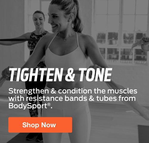 Half Page Ad – Shop Resistance Bands & Tubes at ELIVATE – Click to View Page