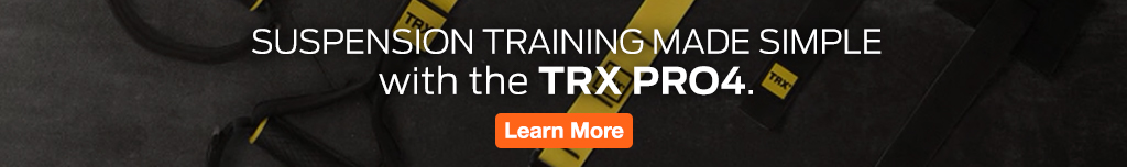 Full Page Ad – Shop the TRX PRO4 at ELIVATE – Click to View Page