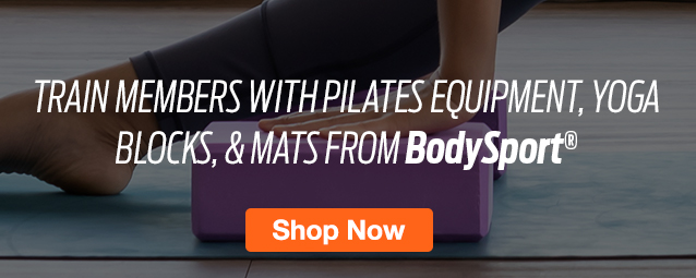 Half Page Ad – Support Your Members' Yoga & Pilates Practice with BodySport – Click to View Page