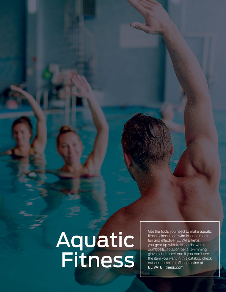 ELIVATE Catalog Aquatic Fitness