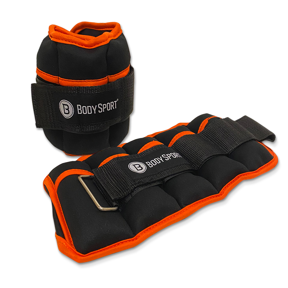 BodySport Adjustable Ankle Weights - Click to Shop