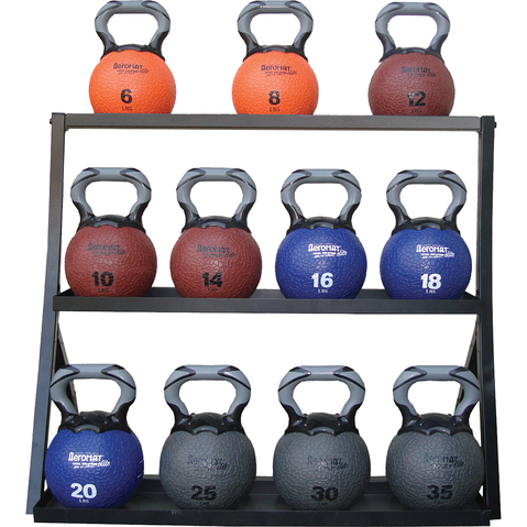 Kettlebell Medicine Ball Racks at ELIVATE™