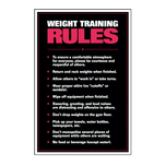Weight Training Rules Chart at ELIVATE™