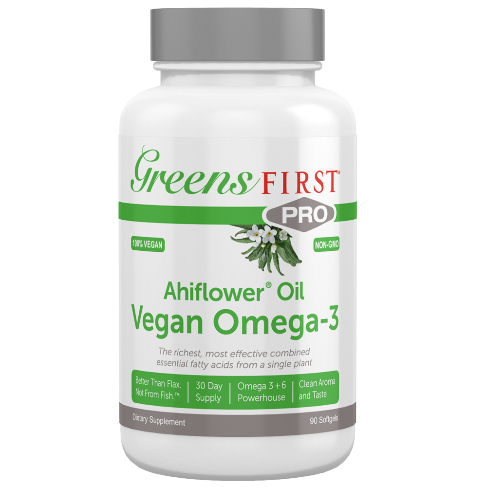 GREENS FIRST® Greens First PRO Ahiflower Oil Vegan Omega-3