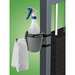 Combination Spray Bottle & Towel Holder