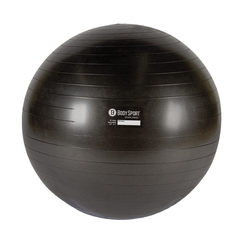 Grey Exercise Ball at ELIVATE™