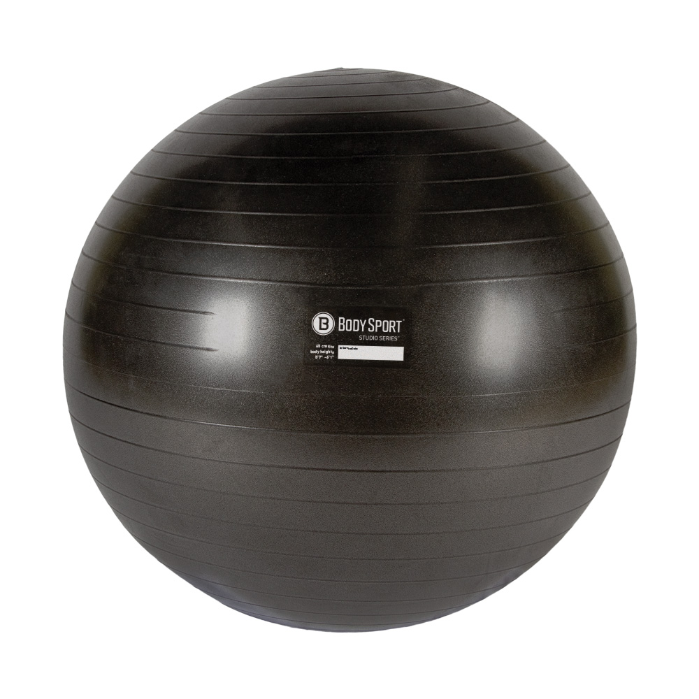 BodySport Studio Series Charcoal Fitness Balls - Click to Shop