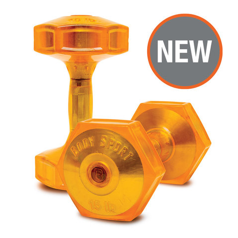 Body Sport® Jellz™ Urethane Covered Dumbbells