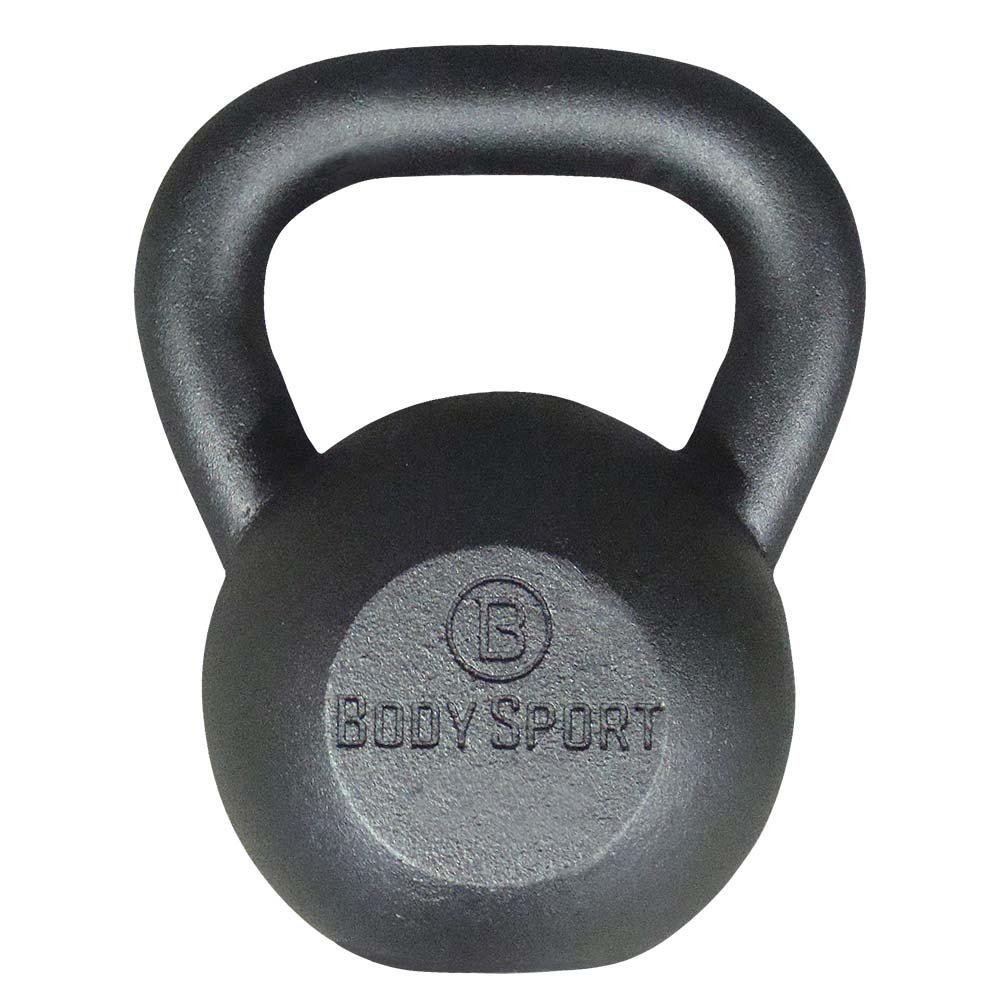 BODY SPORT Cast Iron Kettlebells