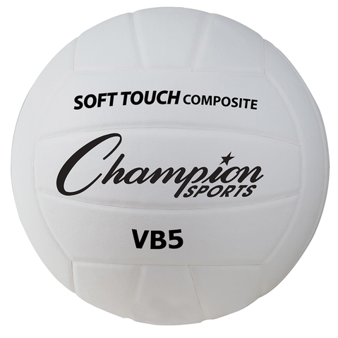 Champion Sports Synthetic Leather Volleyball For Indoor & Outdoor Play
