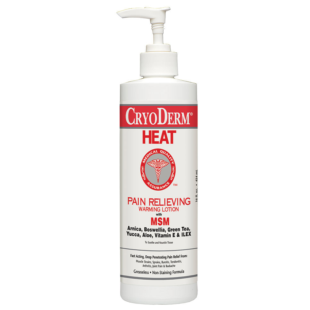 CryoDerm Pain Relieving Heat Therapy Lotion