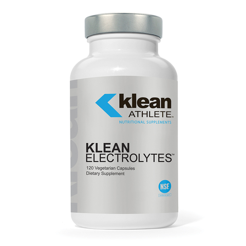 Klean Electrolytes, a NSF certified supplement, provides nutrients to help replenish electrolytes & retain hydration during or after exercise.