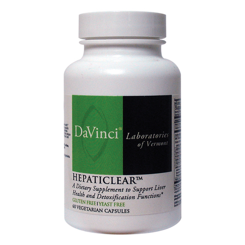 Hepaticlear Caps by Davinci Laboratories at ELIVATE™