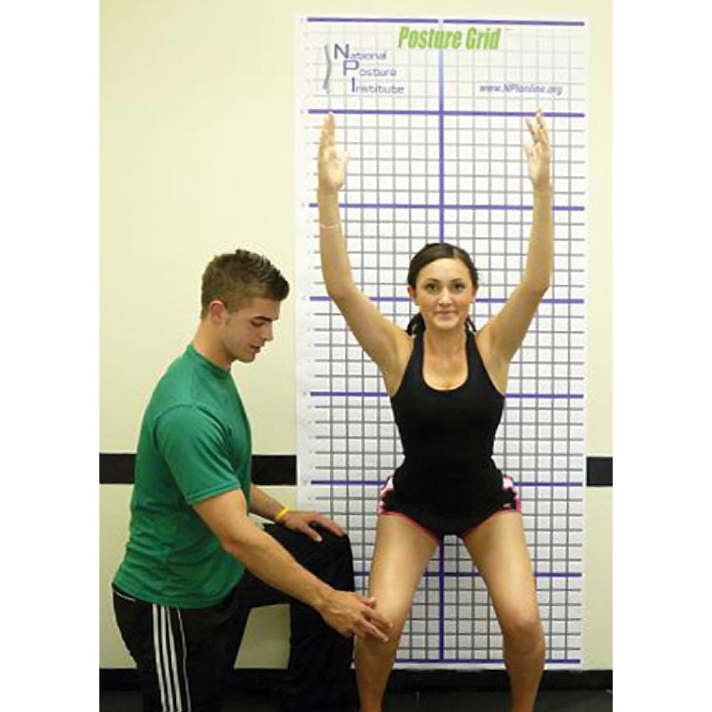 EDUCATIONAL FITNESS SOLUTIONS Posture Grid
