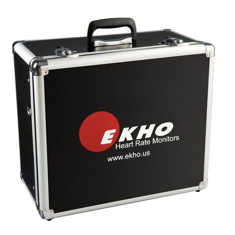 Aluminum Box to Carry Ekho Heart Monitors