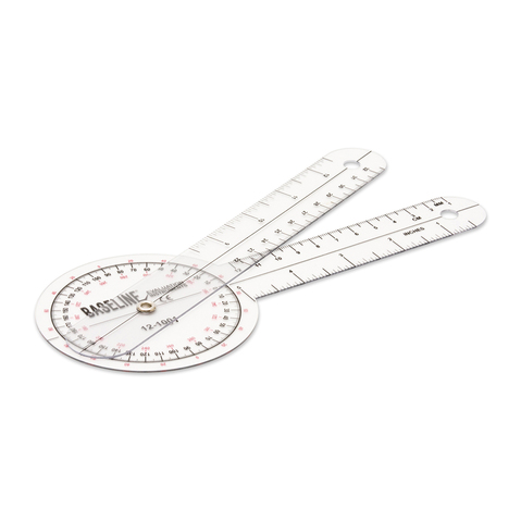 Clear Plastic Geniometers for ISOM System