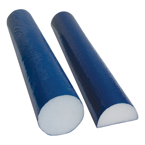 Cando Tufcoat Round Foam Roller Relieves Pain & Stress While Healing Injuries