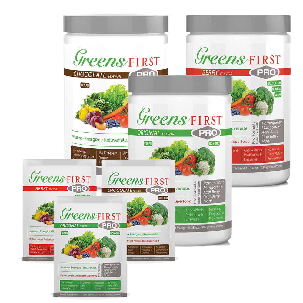 GREENS FIRST® Greens First PRO Powdered Supplements