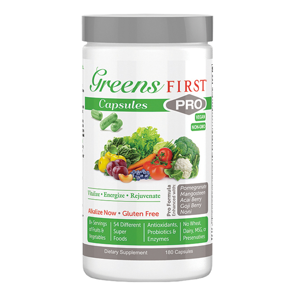 GREENS FIRST® Greens First PRO Capsules