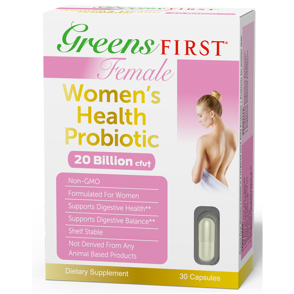 Greens First Female - Women's Health Probiotics