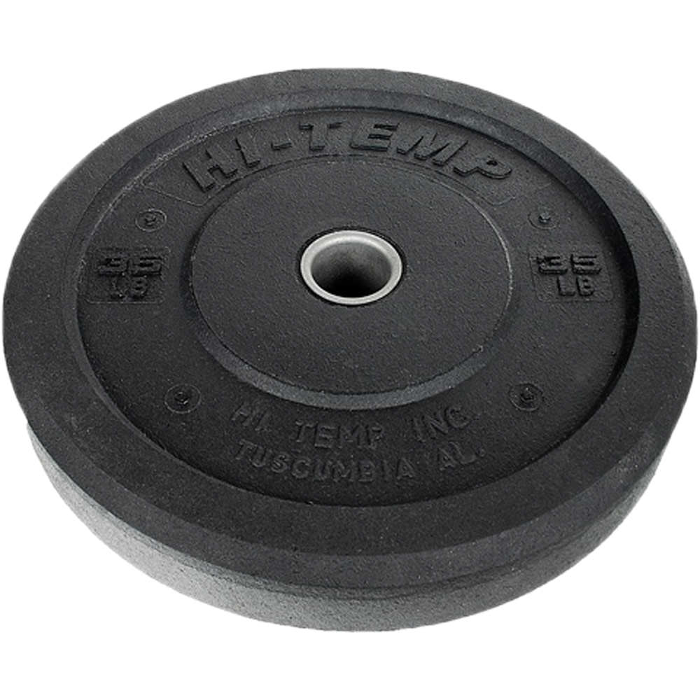 HI-TEMP Solid Rubber Weight Plates