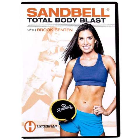 Hyperwear SandBell® Total Body Blast Workout DVD & More at ELIVATE