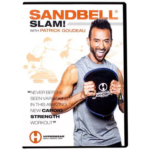 Hyperwear SandBell® SLAM! DVD & More at ELIVATE