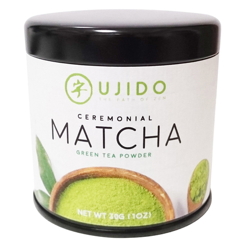 Ujido Ceremonial Matcha Green Tea Powder