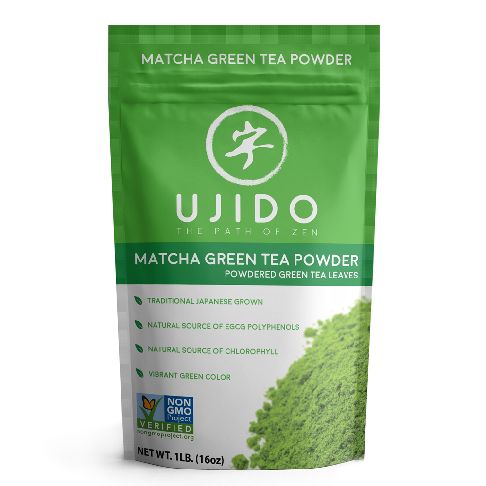 UJIDO Powdered Green Tea Leaves