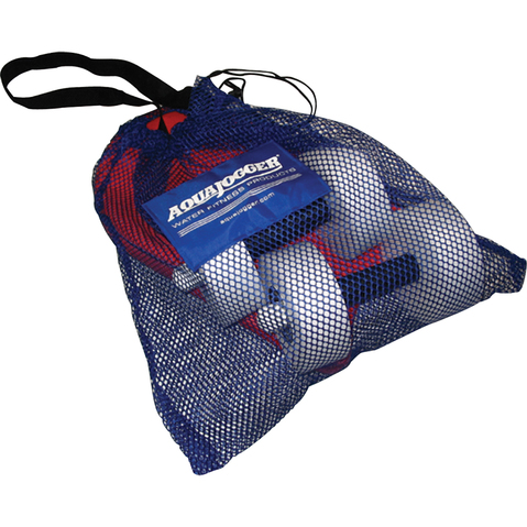 Mesh pool bag & beach bag for water equipment.