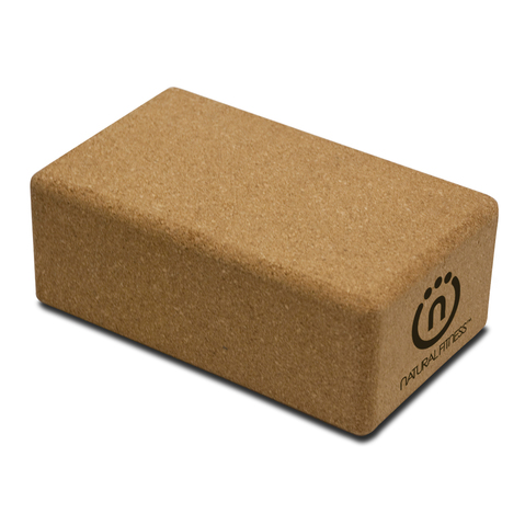 Natural Fitness Cork Yoga Block at ELIVATE™