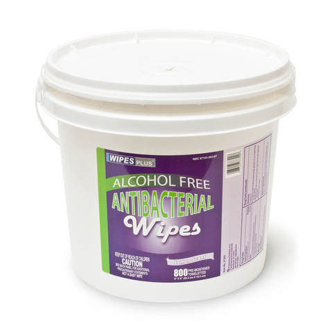 Plastic Pail for Antibacterial Wipes