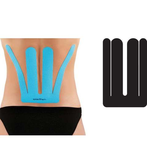 SpiderTech Precut Back Tape & Other Kinesiology Tape at ELIVATE