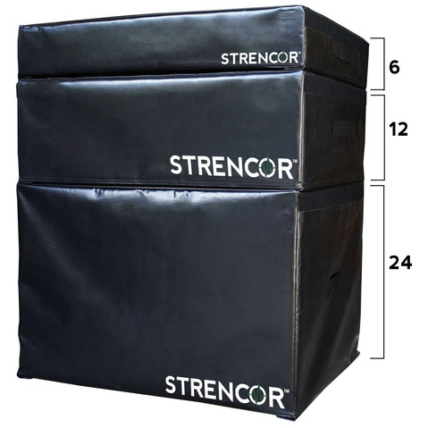 Stackable Soft Impact Plyos from Strencor.