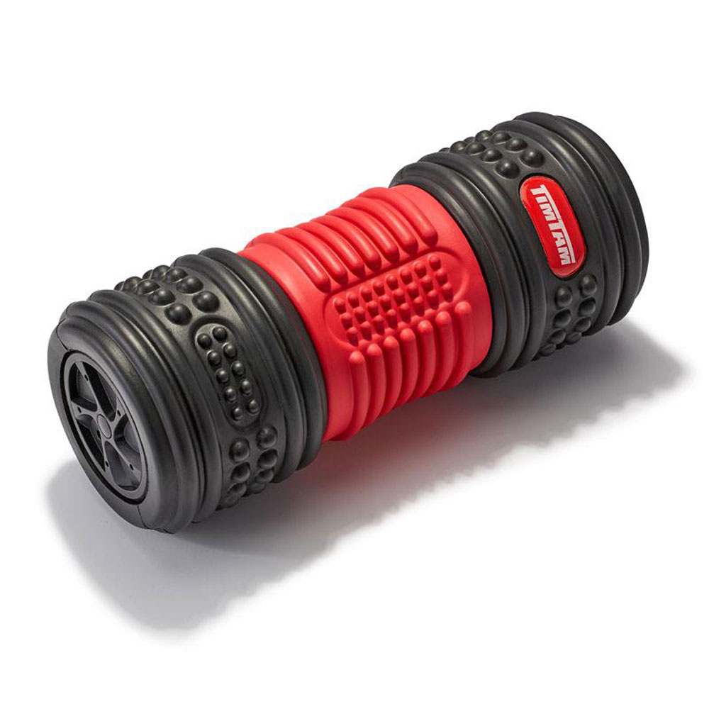 TIMTAM Vibrating Foam Roller, 4-Speed Rechargeable